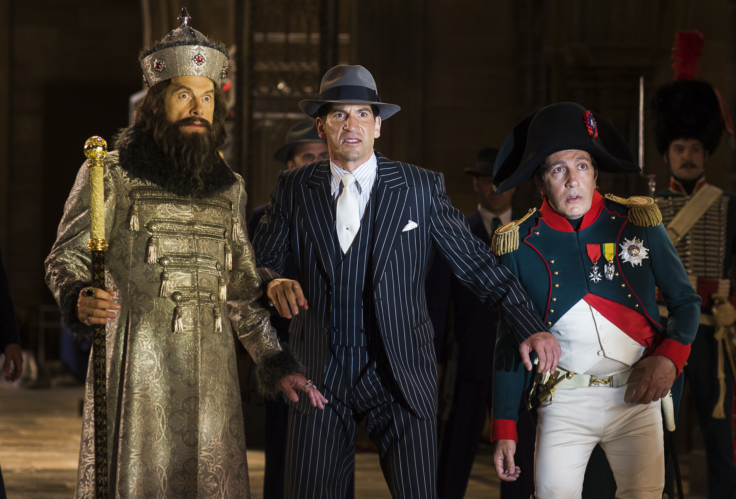 Christopher Guest, Jon Bernthal, Alain Chabat - Night at The Museum 2